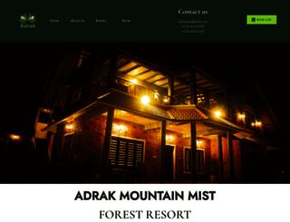 mountainmist.in screenshot