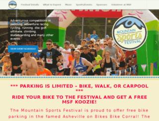 mountainsportsfestival.com screenshot