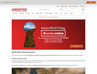 mountex.sk screenshot