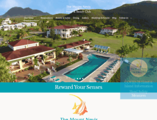 mountnevishotel.com screenshot