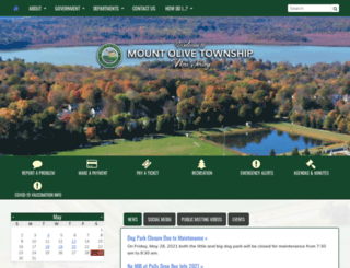 mountolivetownship.com screenshot