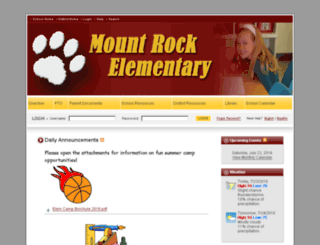 mountrock.bigspringsd.org screenshot