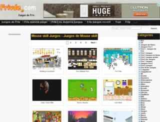 mouse-skill.frivde.com screenshot