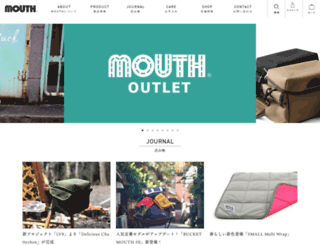 mouth-jp.com screenshot