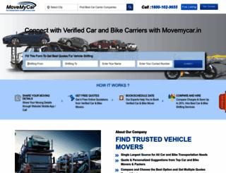 movemycar.in screenshot