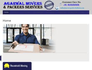 moverspackerskolkata.com screenshot