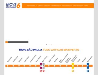 movesaopaulo.com.br screenshot