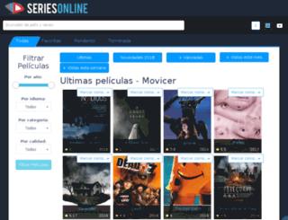 movicer.com screenshot