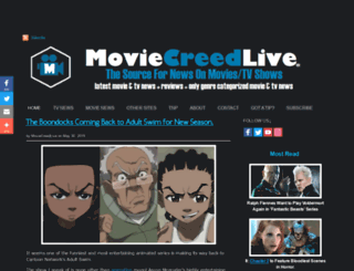 moviecreedlive.com screenshot