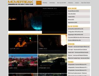 moviefreak.com screenshot