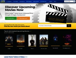movieinsider.com screenshot