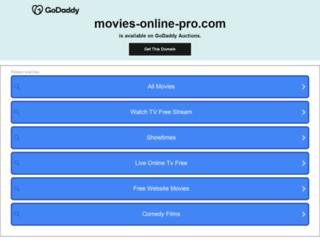 movies-online-pro.com screenshot