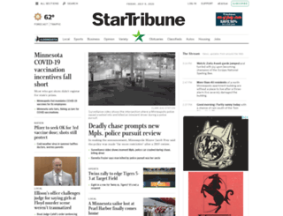 movies.startribune.com screenshot