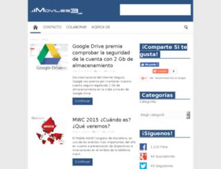 moviles3.com screenshot