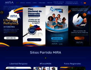 movimientomira.com screenshot
