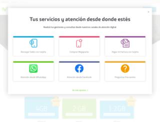 movistar.com.ni screenshot