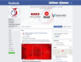 movsa.org.au screenshot
