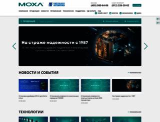 moxa.ru screenshot