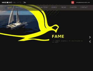 moxieyachts.com screenshot