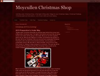 moycullen-christmas-shop.blogspot.com screenshot