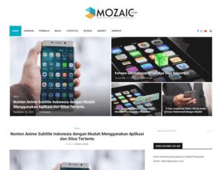 mozaic.co.id screenshot