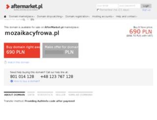 mozaikacyfrowa.pl screenshot