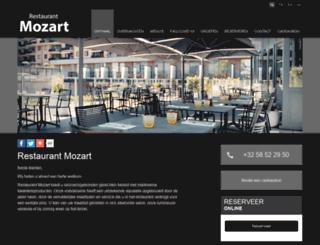 mozart.be screenshot