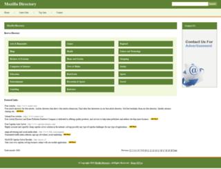 mozilla-directory.com screenshot
