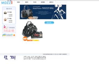 mozzibag.co.kr screenshot