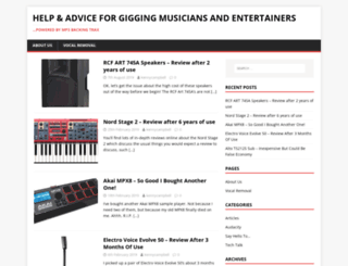 mp3backingtrax.com screenshot