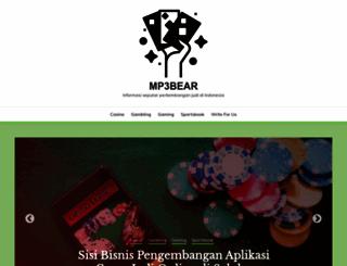 mp3bear.com screenshot