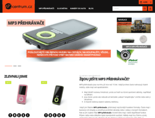 mp3centrum.cz screenshot