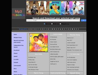 mp3hubonline.com screenshot