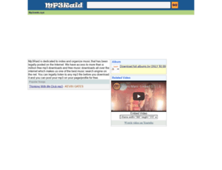 mp3raid.com screenshot