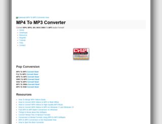 mp4tomp3converter.net screenshot