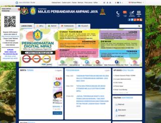 mpaj.gov.my screenshot