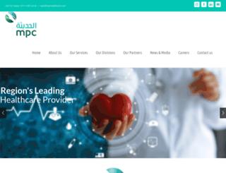 mpchealthcare.com screenshot