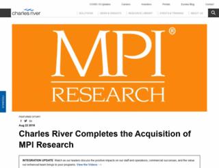 mpiresearch.com screenshot