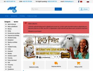 mpktoys.cz screenshot