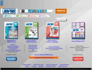 mpm.com.mx screenshot