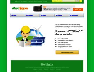 mpptsolar.com screenshot
