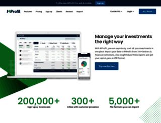 mprofit.in screenshot
