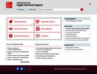 mpss.mhhe.com screenshot