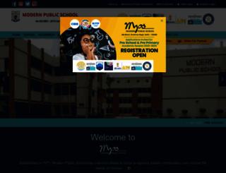 mpsshalimarbagh.com screenshot
