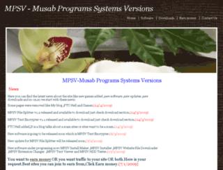 mpsvy.synthasite.com screenshot