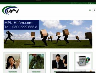 mpu-hilfen.com screenshot