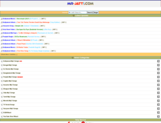 mr-jatt1.com screenshot