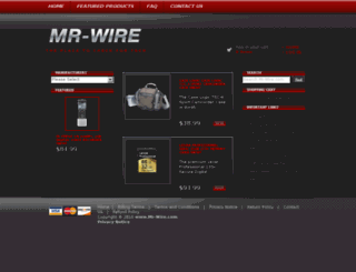 mr-wire.com screenshot