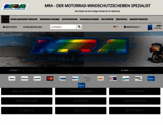 mrashop.de screenshot