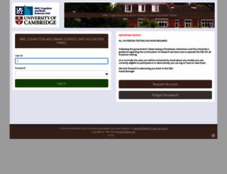 mrc-cbu.sona-systems.com screenshot